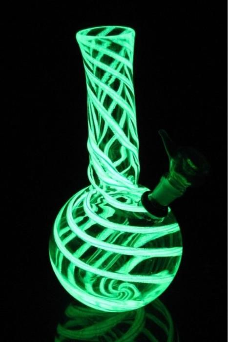 Glow in the dark bong!