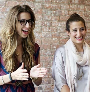 Katia Beauchamp and Hayley Barna of Birchbox #theeverygirl