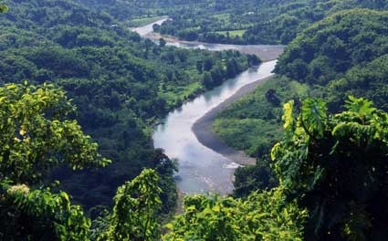 Jamaica has rugged mountains with narrom valleys and a coastal ...