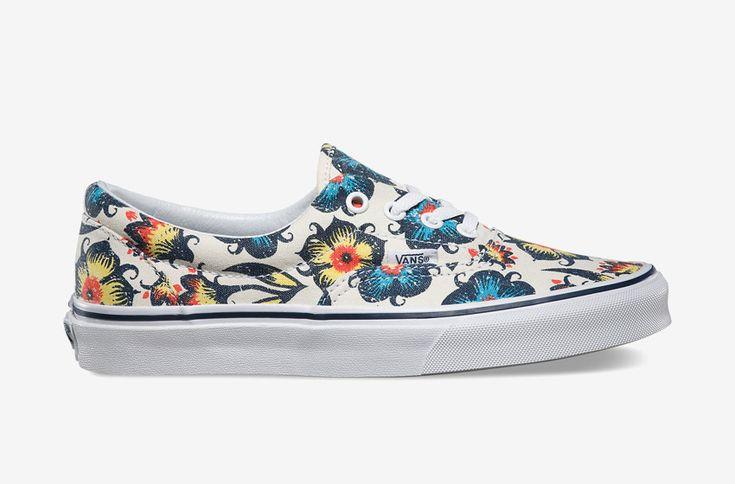 Vans Era — floral print spring/summer 2015, women / Vans era s rostlinnými vzory — jaro/léto 2015 — dámské tenisky  #vans #era #shoes #sneakers #floral #print #women #tenisky #boty