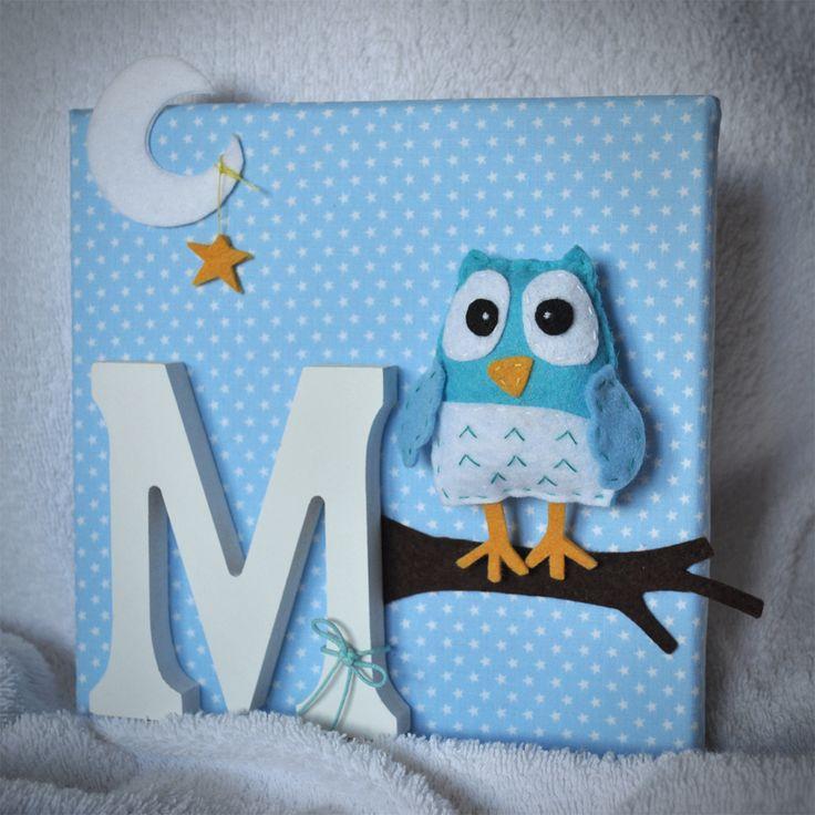 Quadro decorativo para quarto de bebé/criança.  PERSONALIZE o seu!  TAMANHO apróx.: 20 x 20cm  Para ENCOMENDAR: prendas@prendascomcarinho.com