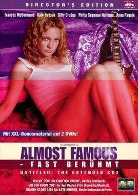 Almost Famous - Fast berühmt  2000 USA      Jetzt bei Amazon Kaufen Jetzt als Blu-ray oder DVD bei Amazon.de bestellen  IMDB Rating 7,9 (132.928)  Darsteller: Billy Crudup, Frances McDormand, Kate Hudson, Jason Lee, Patrick Fugit,  Genre: Biography, Drama, Music,  FSK: 12