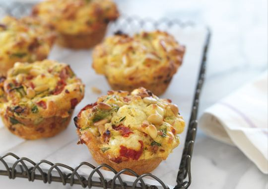These easy savoury muffins are great for kids lunchboxes!