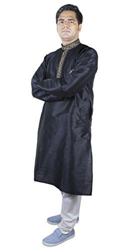 Mens Clothes Fashion Kurta Pajama Punjabi Indian Dress Long Black Size M RoyaltyLane http://www.amazon.co.uk/dp/B016RN81E0/ref=cm_sw_r_pi_dp_bGCRwb1KPZ5KV