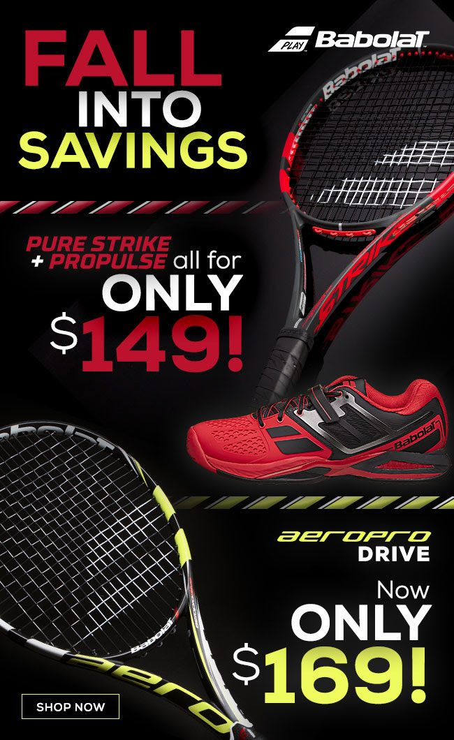 Fall into savings with this unbeatable Babolat racquet and shoe deal for ONLY $149!