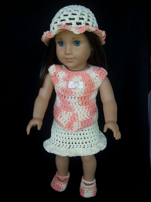 Crochet Amigurumi Pattern Hello Kitty Strawberry Hoolaloop : 17 Best images about American Girl crocheted clothes** on ...