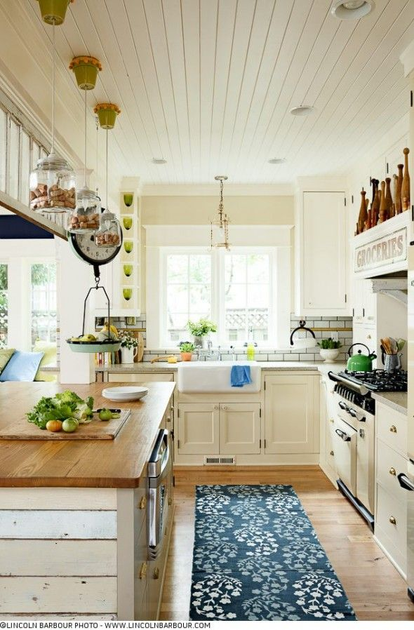 HGTV Magazine - Shannon Quimbys Recycled Kitchen