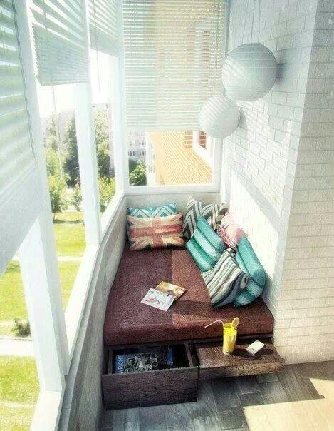 Idea for small balcony