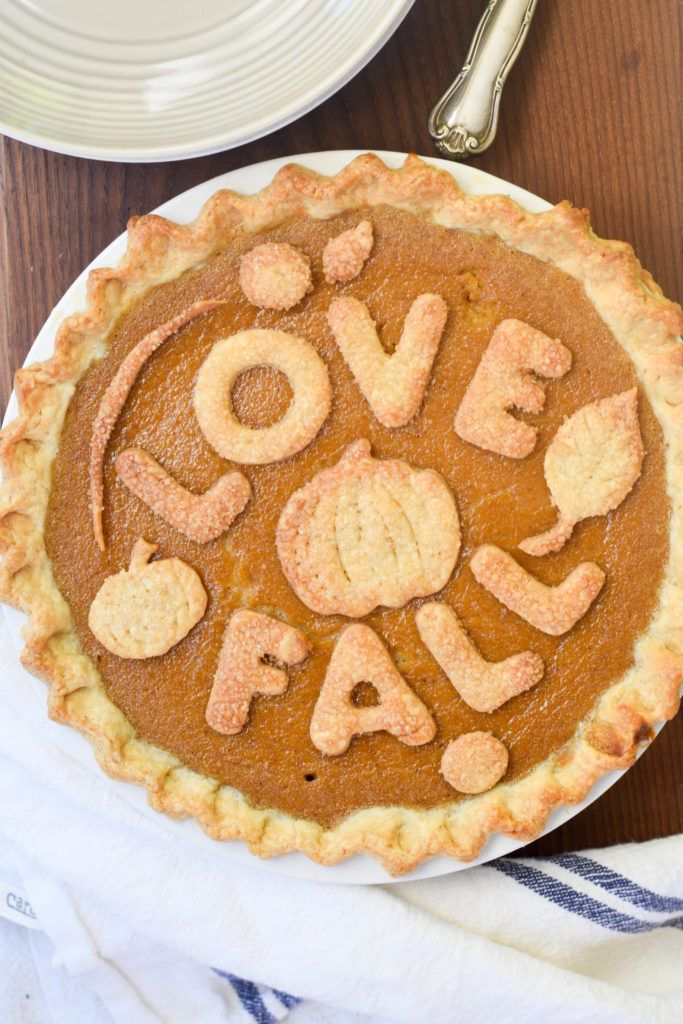 Make the best pumpkin pie of your life by using fresh pumpkin, not canned! You will taste the difference.