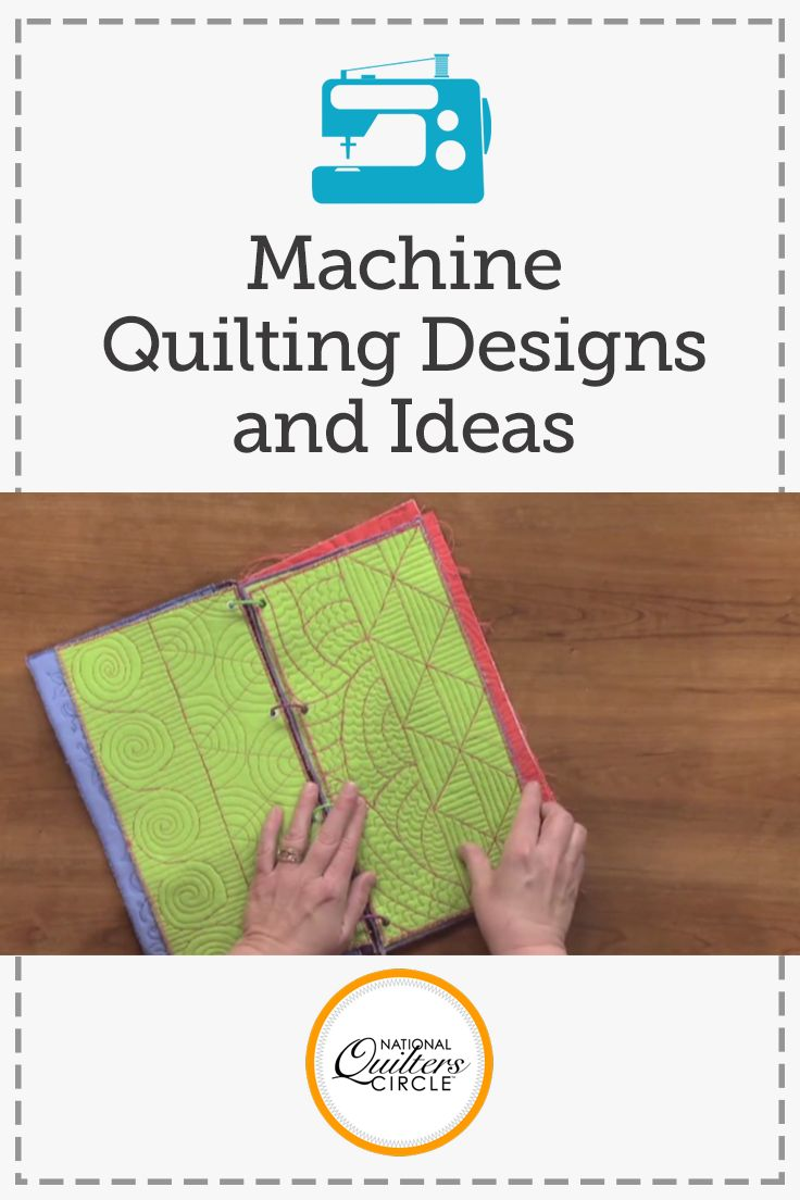 Need some new quilting designs and ideas? Heather Thomas gives you a pep talk telling you that failure and ugly quilts are part of the process to mastering machine quilting. Then start practicing by taking a look at pages of designs with Heather. Hear how they are best used on an average quilt and feel free to pause the video to take a closer look.