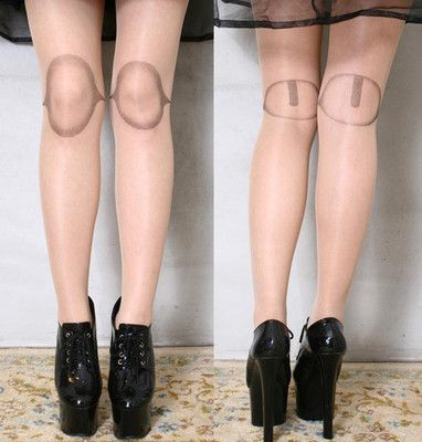 BJD Dollfie Creepy Fake Plastic Doll Leg Knee Joint Tights for the complete Halloween Doll Costume