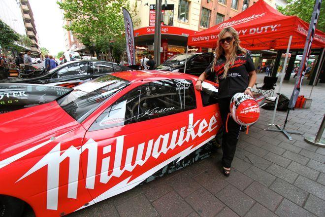 Aussie Pro Stock Racer Kristen Tucker Signs Milwaukee Tools