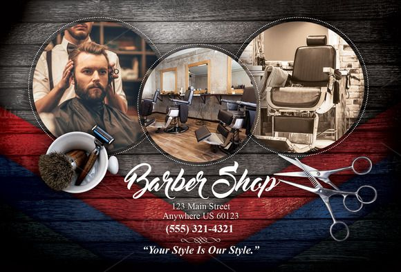 Barber Shop Flyer  @creativework247