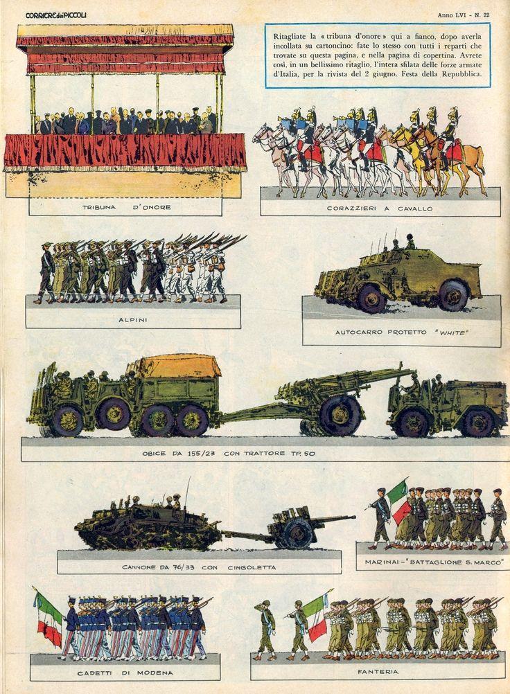 Corrierino e Giornalino: 2 giugno: La rivista delle Forze Armate