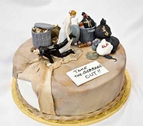 Ratos, qualquer um? | 24 bolos de divórcio hilários que são até melhores do que bolos de casamento