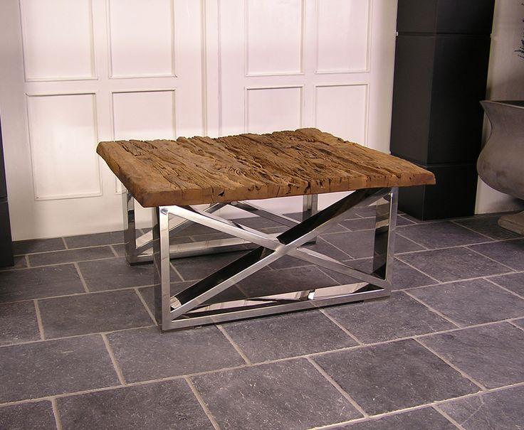 Driftwood Coffee Table, 100 x 100 cm