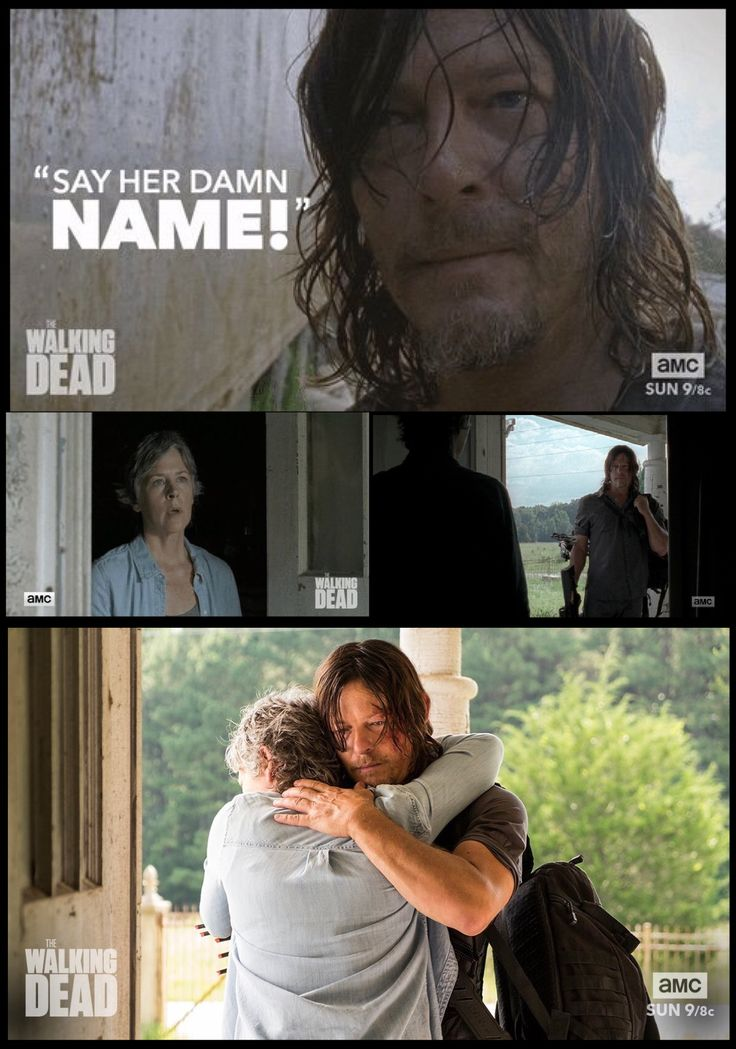 TWD Season 7 Episode 10 'New Best Friends' - Daryl looks for Carol...the reunion. | The Walking Dead