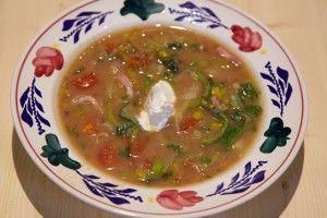 Makkelijke bruine bonensoep - Recept | 24Kitchen
