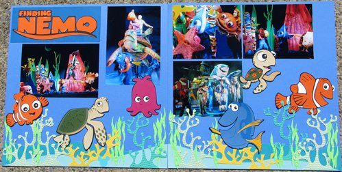 Disney Scrapbook 45 - Club CK - The Online Community and Scrapbook Club from Creating Keepsakes