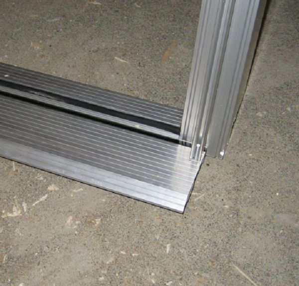 Door threshold over concrete door designs plans door for Home depot door threshold