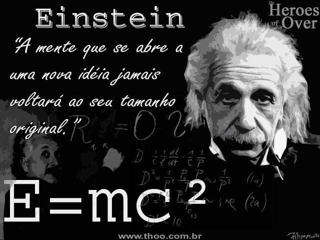 Por Dentro... em Rosa: Pensamentos : Albert Einstein