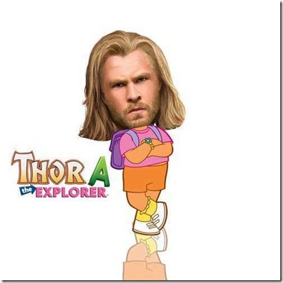 I have a weird obssesion with anything thor related and funny.