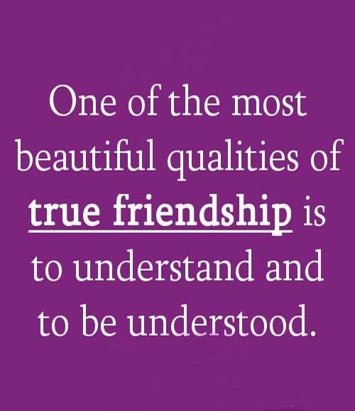 qualities in a friend Genuine and trustworthy friends are few and far between at times, it's difficult to  differentiate between a friend and acquaintance the two are similar, although.