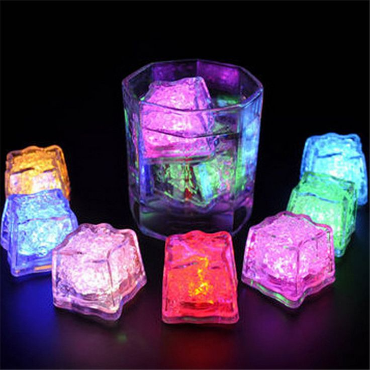 >> Click to Buy << 5pcs Water Sensor Multi Colors Changing Led Ice Cubes Event Party LED Luminous Sparkling Ices Light For Wedding Decoration #Affiliate