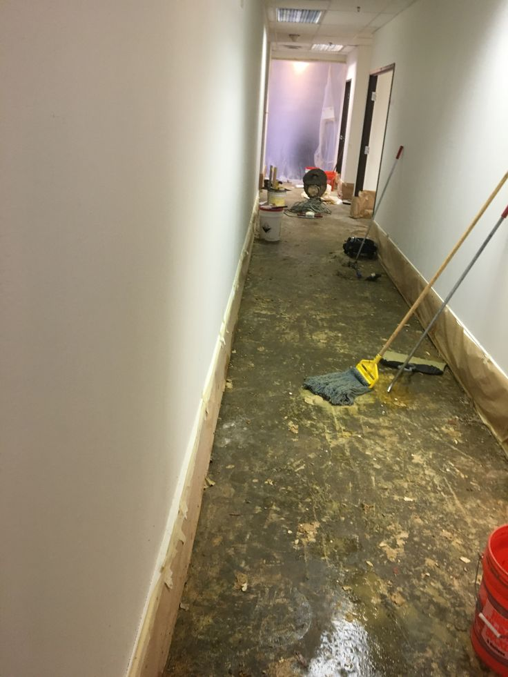 Unique Repouring Basement Floor
