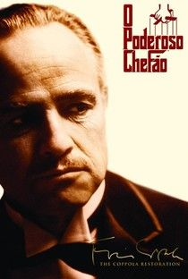 1 - O Poderoso Chefão (The Godfather) - Poster / Capa / Cartaz