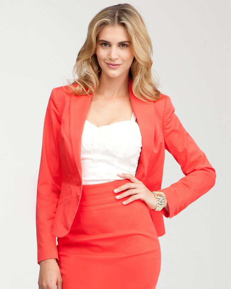 bebe Waist Seam Single Button Jacket in hibiscus!  #bebe #pinyourwaytotheuk: Waist Seam, Casual Chic, Bebe Waist, Seam Single, Buttons Jackets, Bebe Mobiles, Women Clothing, Bags, Single Buttons