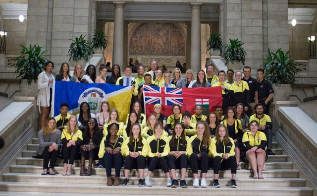 Team Manitoba Basketball Honoured at Manitoba Legislative Building   Congratulations to the members of the 2017 17U Team Manitoba Female Basketball team who were honoured along with the other medal winners form the 2017 Canada Games held in Winnipeg last month. The Manitoba Female team brought home the Bronze MedalWATCH 2017 BRONZE MEDAL GAME All athletes were honoured at the Manitoba Legislative Building with Premier Brian Pallister Mayor Brian Bowman and Minster Cathy Cox. All medalists…