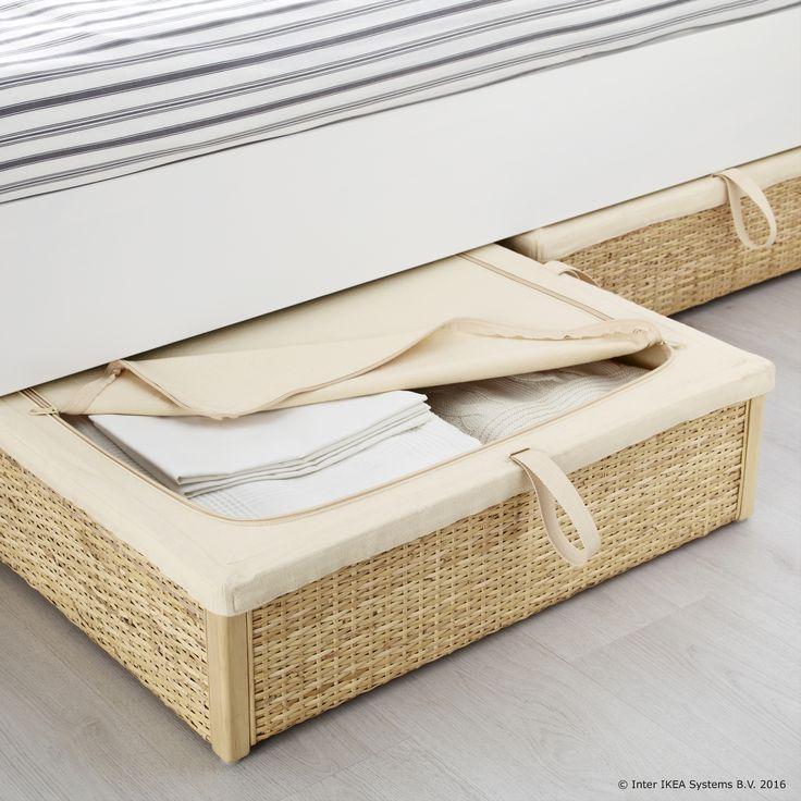 R MSKOG kutija pretvara prostor ispod kreveta u zgodno mjesto za odlaganje    irina  65 cm   Under Bed Storage BoxesBed. Best 25  Ikea under bed storage ideas on Pinterest   Under bed
