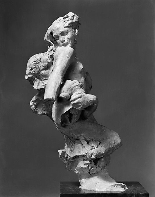 "Auguste Rodin #terracotta #sculpture [""Triton and Nereid"", probably modeled ca. 1886–93]"