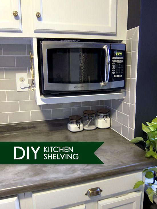 Best 20 Microwave Shelf Ideas On Pinterest