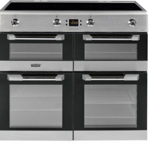 Leisure Freestanding Electric Range Cooker With Induction Hob CS100D510X   #cookers #rangecookers #kitchen