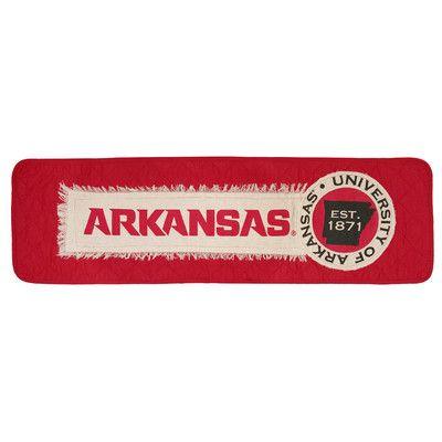 Great Finds University of Arkansas Table Runner