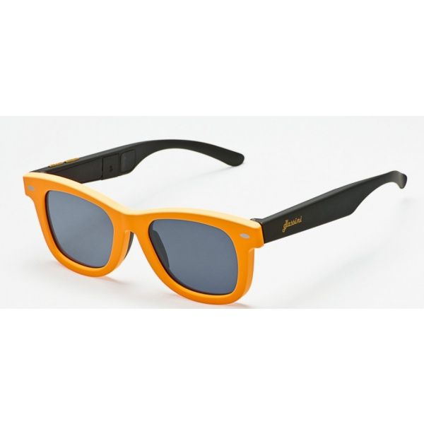 #Okulary ze sterowanym zaciemnieniem:: przeciwsłoneczne z polaryzacją #Glassini Bali Orange/Black