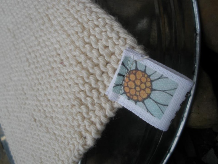 Organic hand knitted & unbleached massage cloths.  These cloths are absolutely amazing when used with my cleanser. The idea is the cloth not only removes the cleanser, but actually massages and stimulates the blood circulation, to help improve your complexion from within!    You will feel like you have had a mini spa treatment with a gentle exfoliation & stimulation each cleanse.  Available @ Indigo Amber Teething Jewellery on Facebook