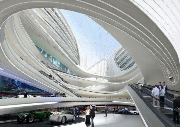 The Circle at Zurich Airport | Zaha Hadid Architects- ABUSADA!