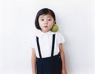 cute little lady. photographed by Osamu Yokonami