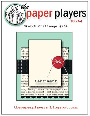 The Paper Players: PP264: A Sketch Challenge from Claire