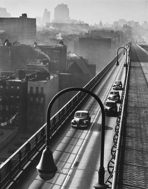 Williamsburg Bridge New York 1947