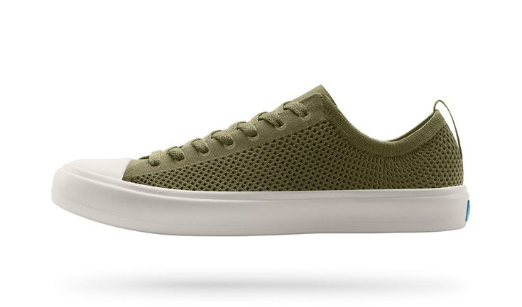 The Phillips Knit: Geo Green / Picket White