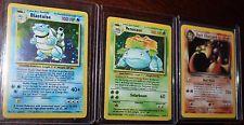 Pokemon Card Collection Blastoise 2/102 Venusaur 15/102 Dark Charizard 4/82   get it http://ift.tt/2gLdQYP pokemon pokemon go ash pikachu squirtle