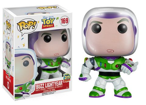 POP! Disney: Toy Story - Buzz Lightyear #169 bought at Hot Topic 2.13.16