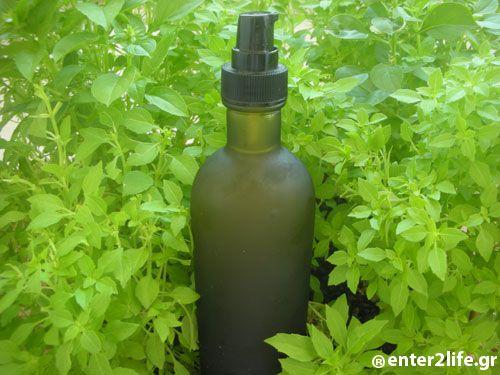 Φυσική εντομοαπωθητική λοσιόν με βότανα www.enter2life.gr