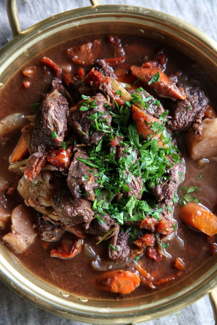 Slow-Cooker Red Wine Beef Stew                                                                                                                                                                                 More