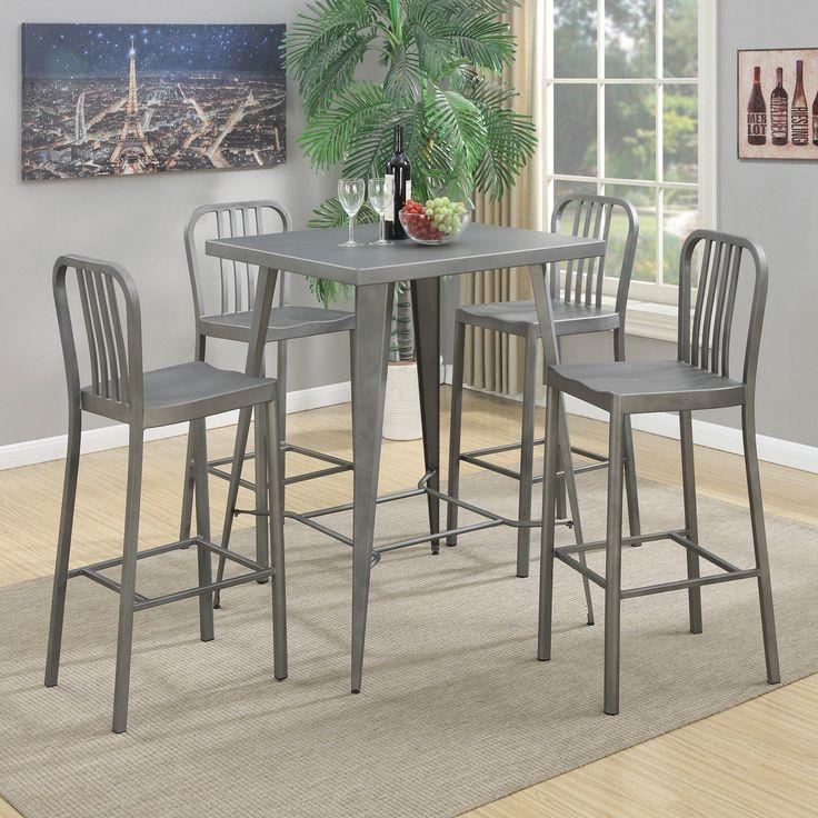 Popular Coaster Furniture Coaster Indio Piece Pub Table Set COA