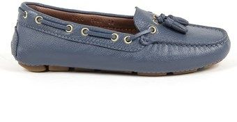 Andrew Charles by Andy Hilfiger Andrew Charles Womens Loafer Blue Giuly.